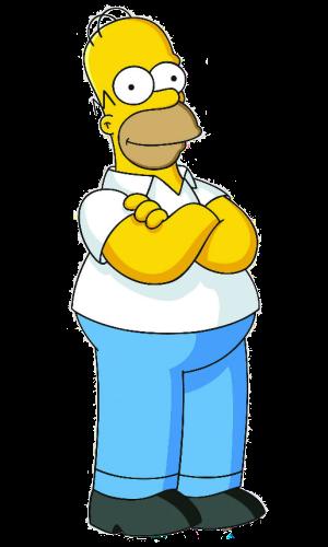Pin De Nena Bruzual En Simpson Printables Personajes De Los Simpsons Imagenes De Homero Los Simpsons