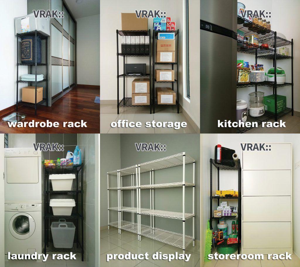 Home Design Ideas Malaysia: Storage Rack, Wardrobe Rack, Office