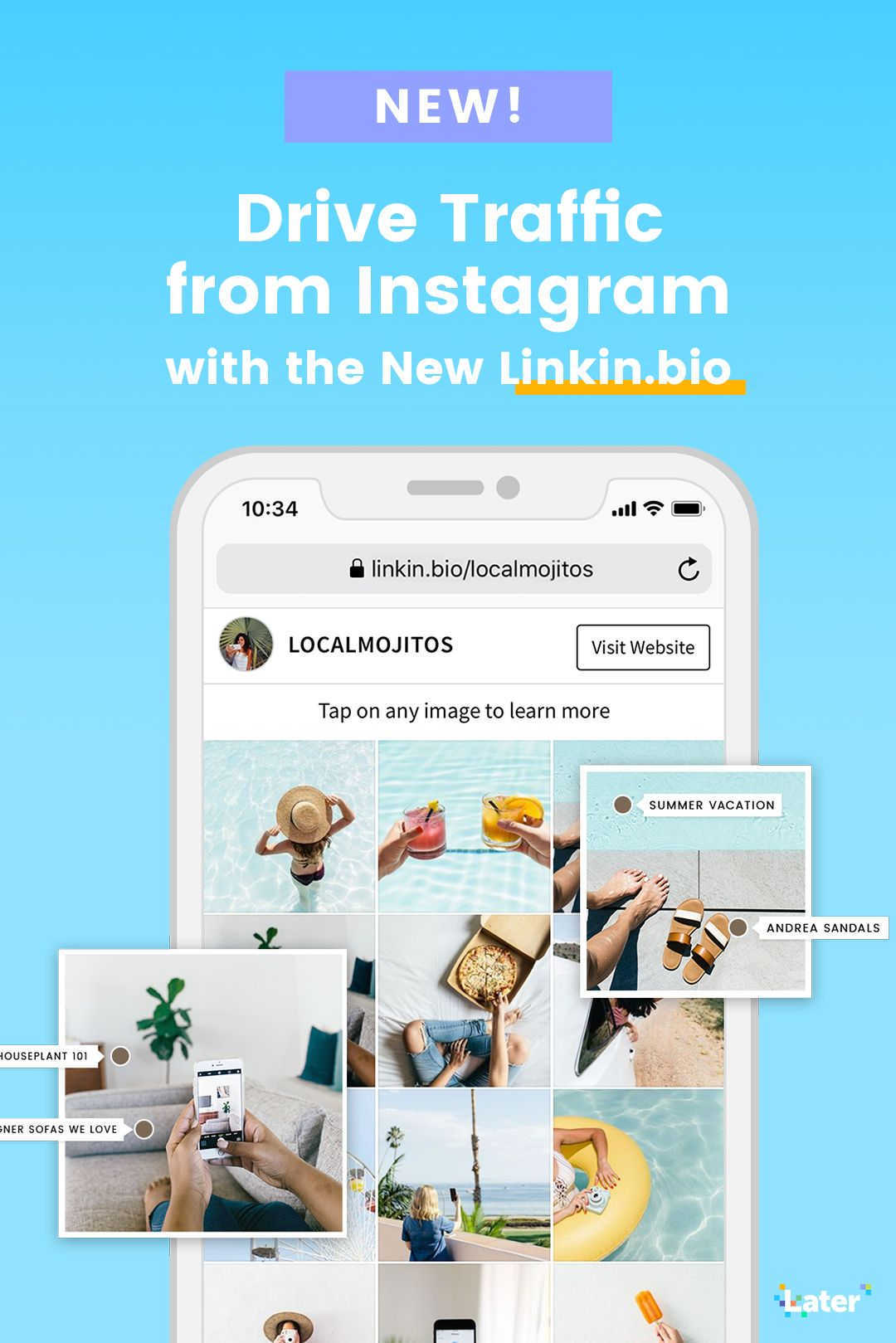 Introducing Linkin Bio Add Links To Instagram Posts Instagram Instagram Marketing Social Media Advice