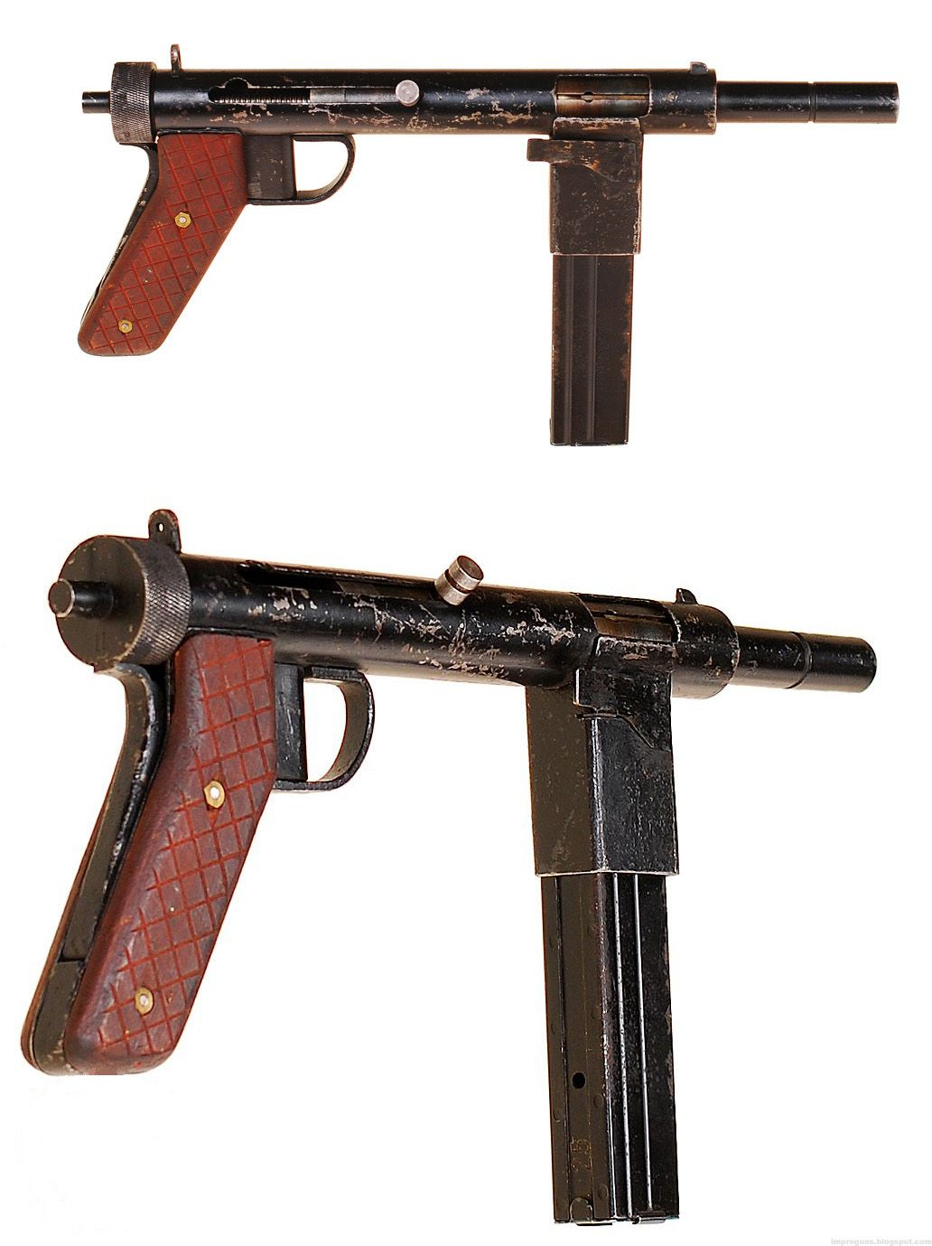 A Danish Resistance Machine Pistol Denmark  Ww Firearms