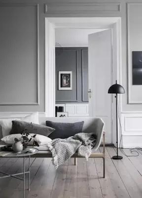 تصميم بسيط لحضرة معيشة بسيطة جدا In 2021 Living Room Grey Modern Grey Living Room Grey Flooring Living Room