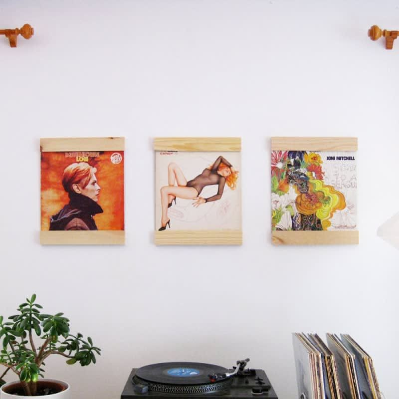 Interior Designers Share Their Favorite Places To Shop On A Budget Framed Records Lp Frames Wall Art Sets