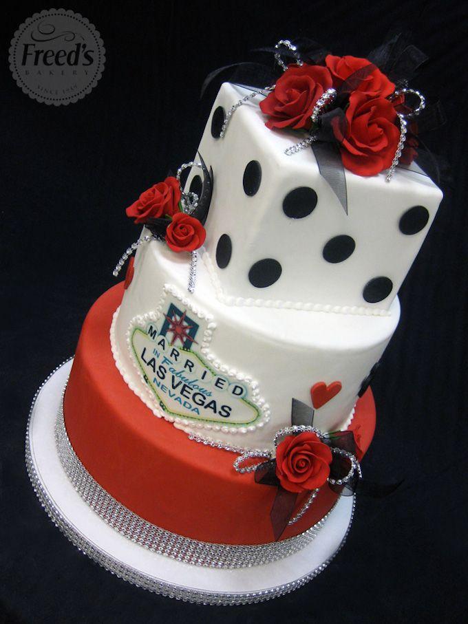 121 Amazing Wedding Cake Ideas You Will Love Vegas Themed WeddingCasino