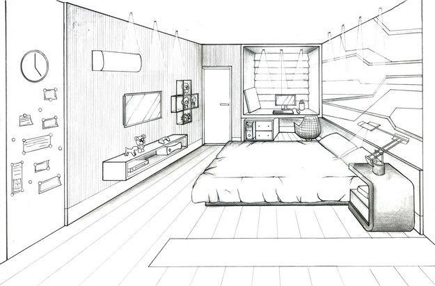 Cenarios Desenhos Pesquisa Google Interior Design Renderings
