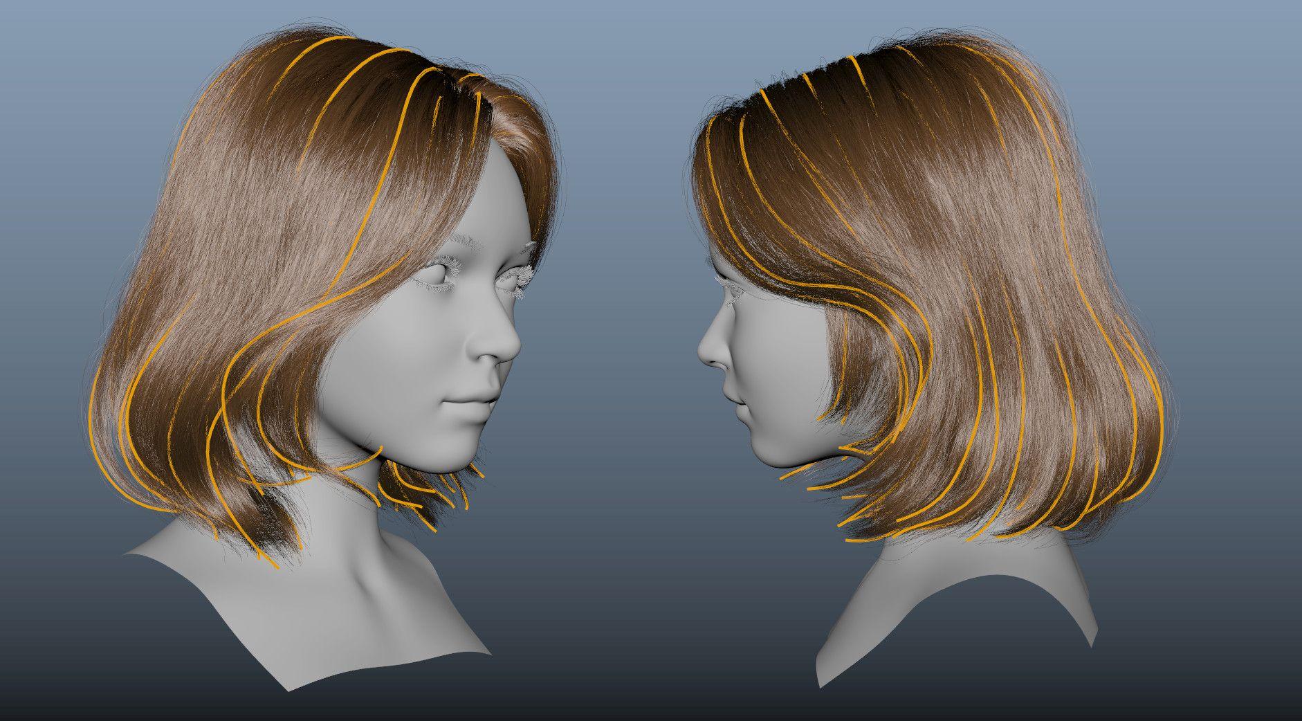 ArtStation - Realistic Hair XGen in Arnold, Box Shih | CG
