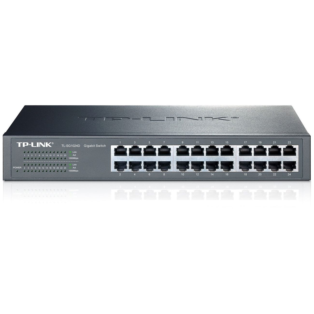 Tp Link Tl Sg1024d 10 100 1000mbps 24 Port Gigabit 13 Inch Rackmountable Switch 48gbps Capacity Tp Link Hub Switch Cool Bluetooth Speakers