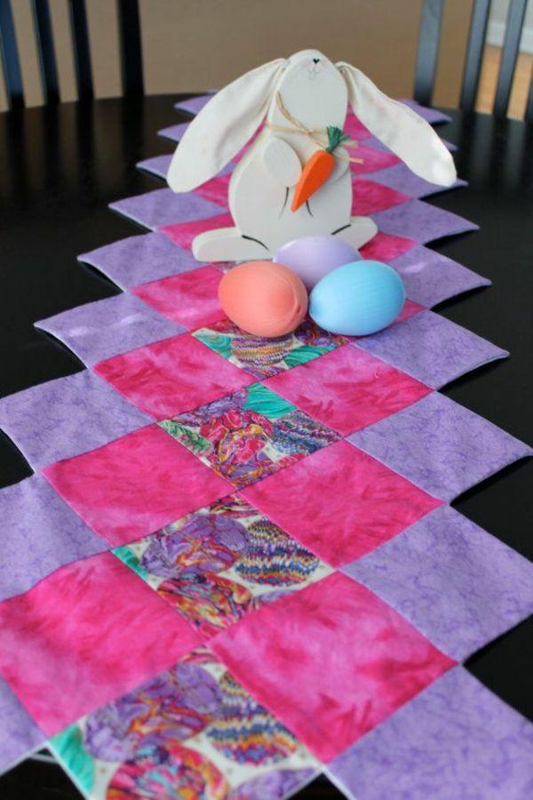 Thematische Tischlaufer Zu Ostern Sorgen Fur Eine Festliche
