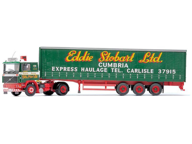 Spielzeugautos & Zubehör Caledonian Logistik Corgi Mercedes-benz Mp4 Curtainside Diecast-modell