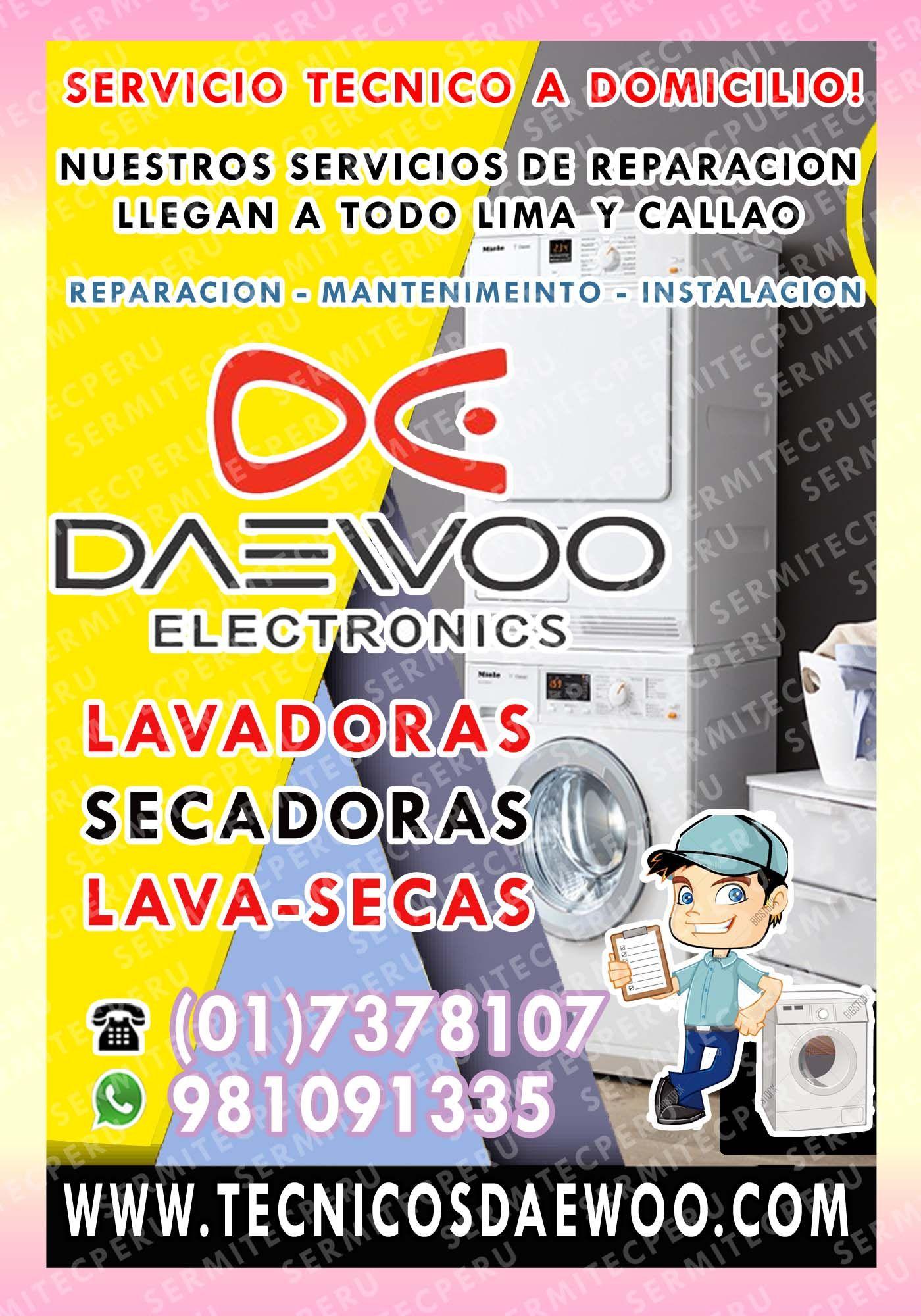 Tu Electrodomestico Daewoo Presenta Fallas 1 Comunicate Ahora