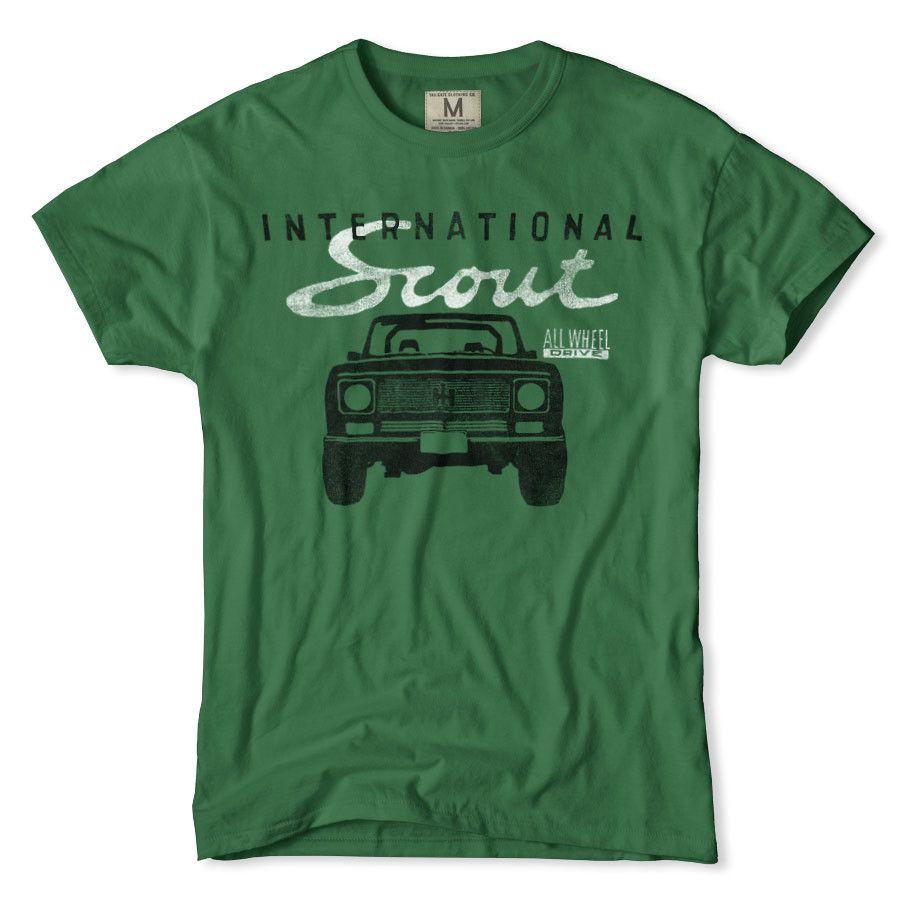 International Harvester Clothing : International scout t shirt my style pinterest