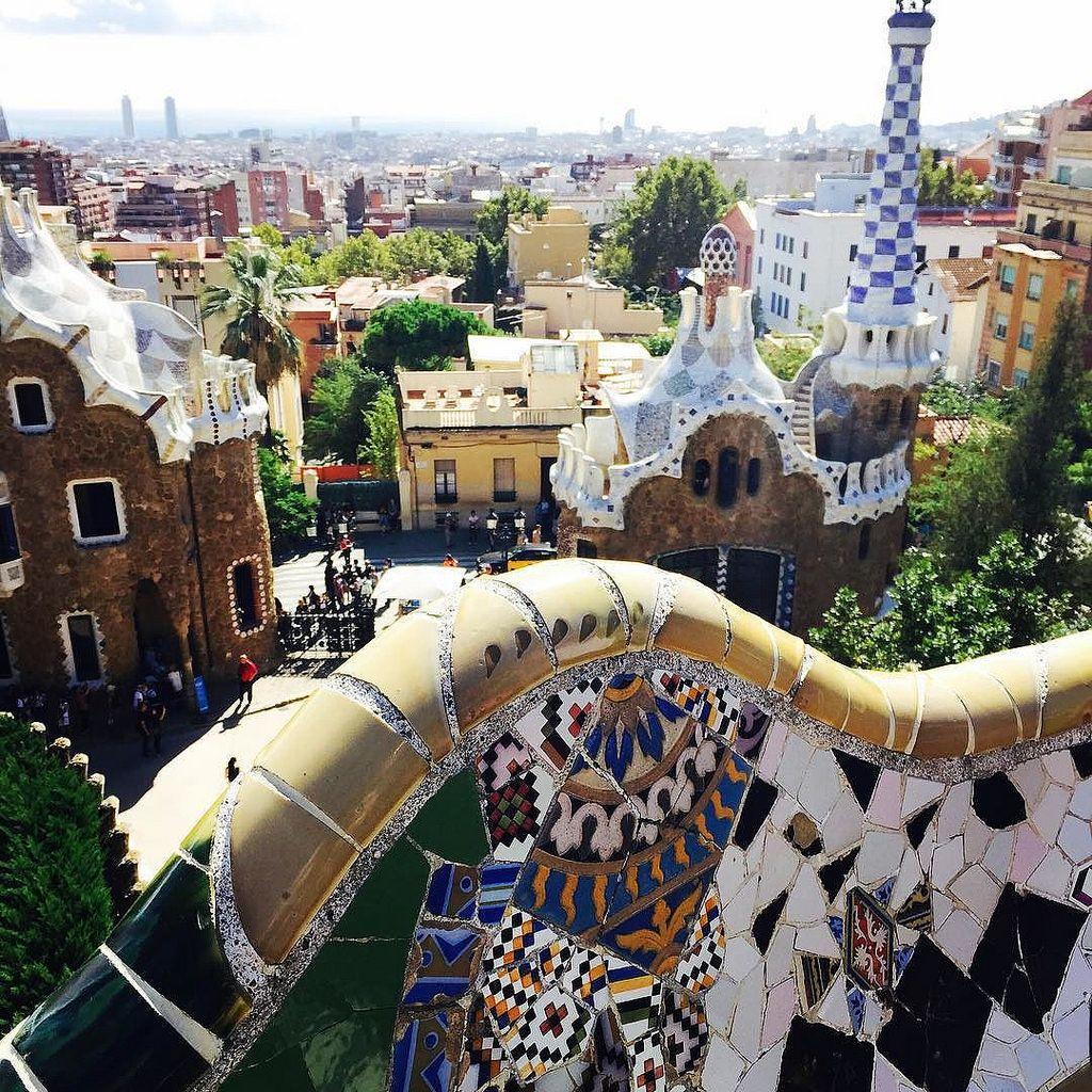Park Guel - Barcelona Spain 구엘공원 #spain #visitspain #europe #travel #trip #barcelona #parkguel #gaudi #tripinfo #여행스타그램 #여행 #구엘공원 #바르셀로나 #스페인 #유럽 #여행정보