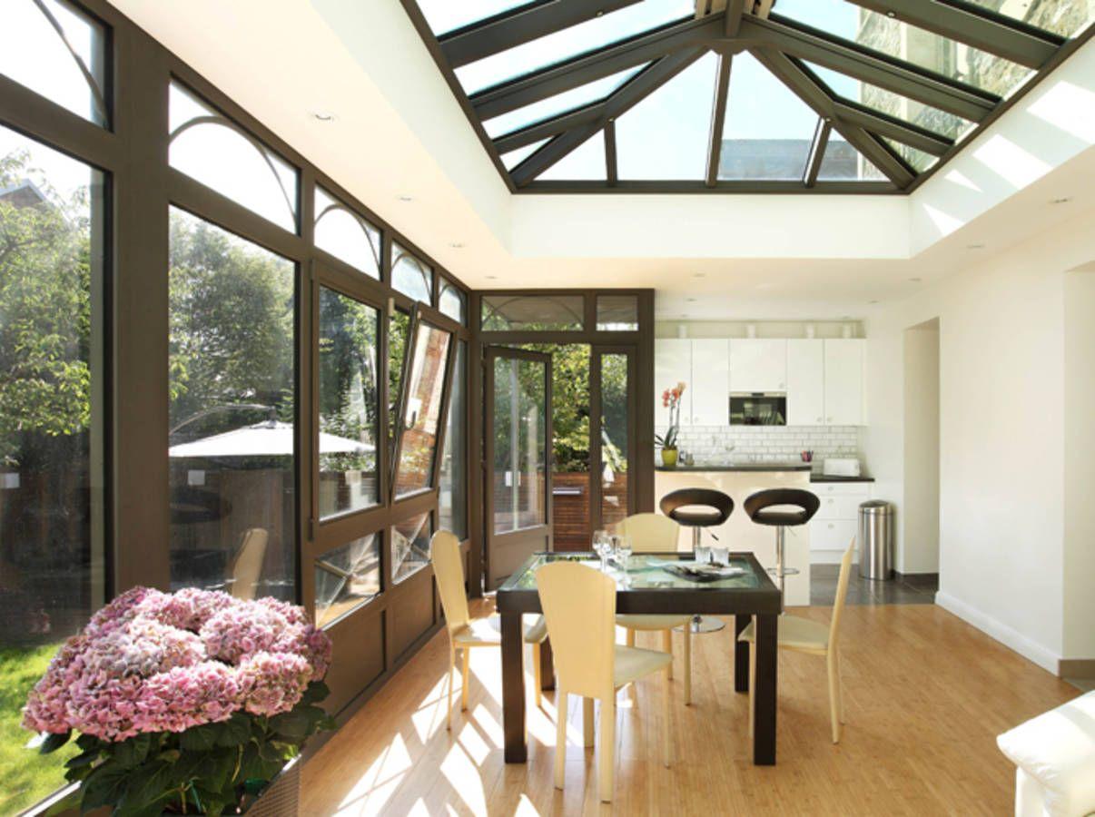 13 jolies v randas pour s 39 inspirer elle d coration greenhouse pinterest veranda - Agrandissement maison veranda ...