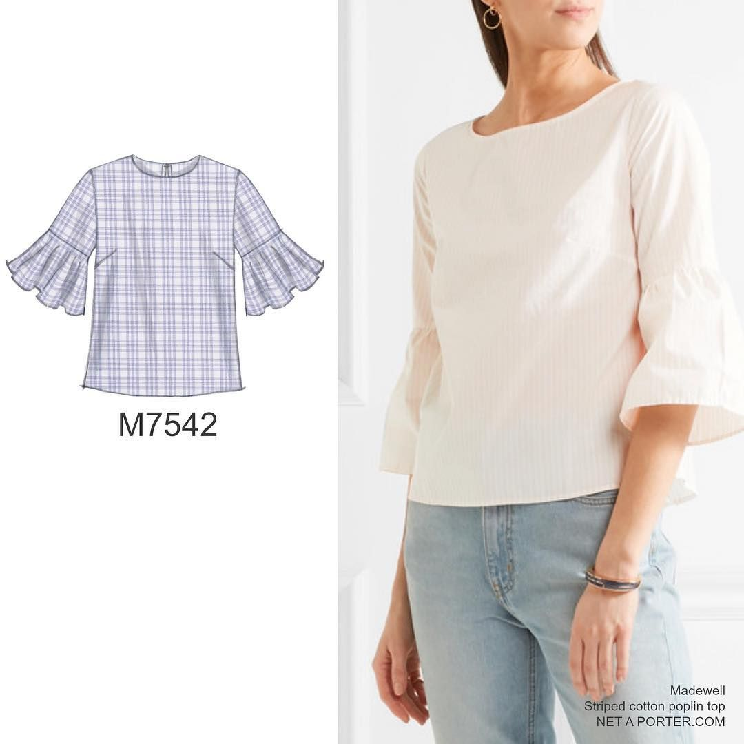 Cant get enough of this top style mccallspatterns m7542 explore sewing ideas sewing patterns and more jeuxipadfo Image collections