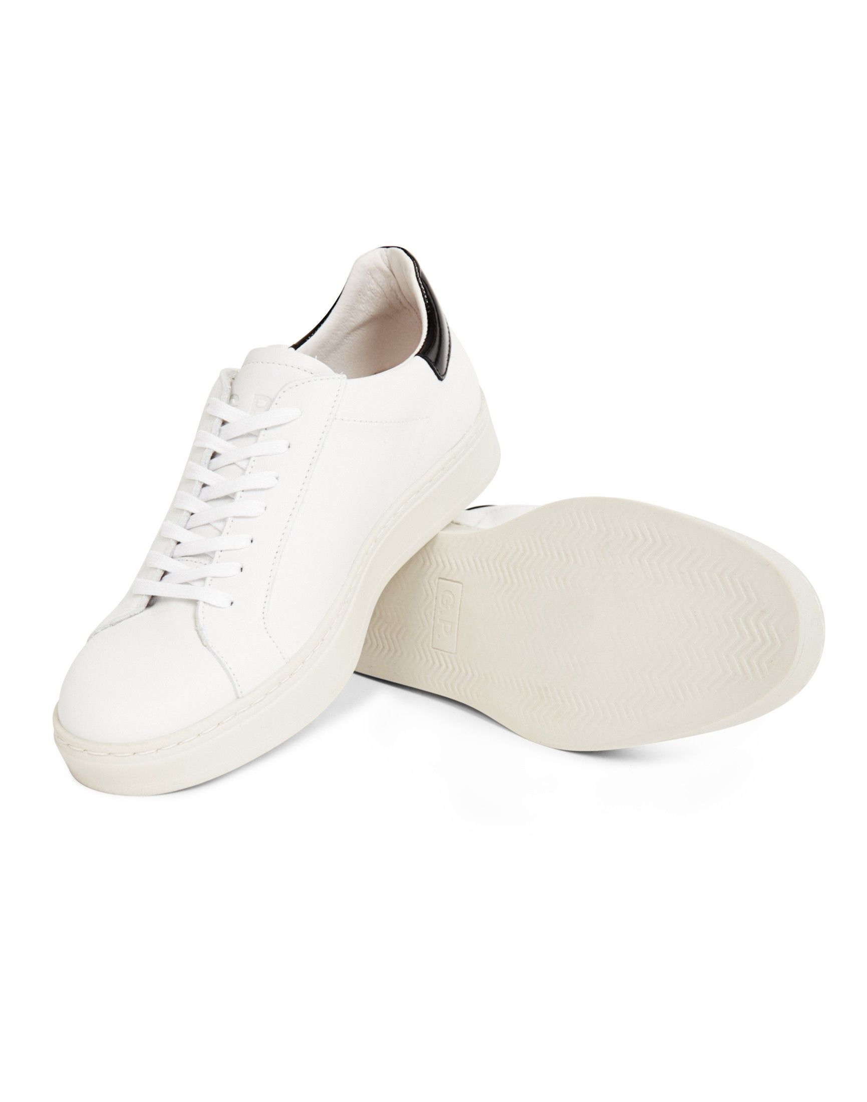 Garment Project Miami Leather Trainer White | Shop men's trainers, shoes  and clothing at The