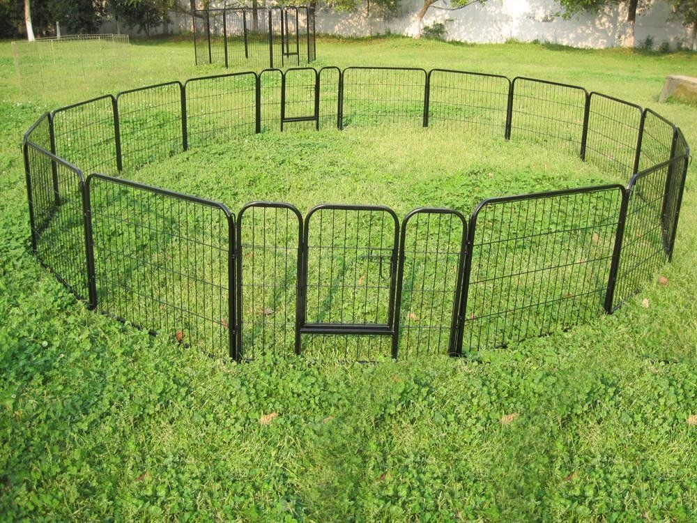 Doggy Play Pen Keep Your Puppy Safe Give Yourself Break Dog Playpen Indoor