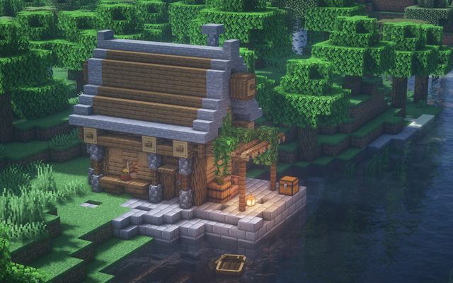Simple little fisherman s house design