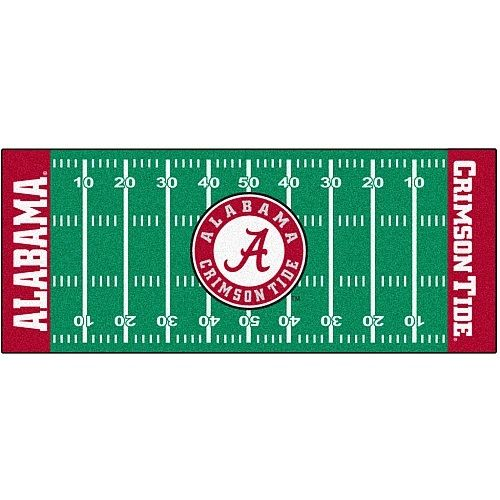 "Details About Alabama Crimson Tide 30"" X 72"" Football"