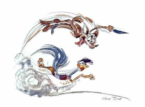 wile e coyote roadrunner characters i love pinterest looney rh pinterest ca Road Runner Drawings Thick Lines Road Runner Coloring Pages