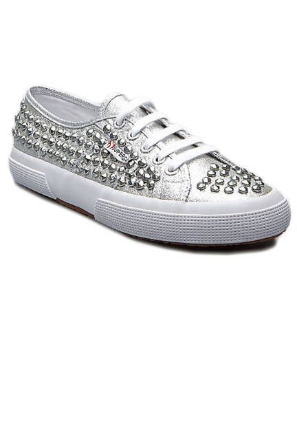 Stud Statement   Studded sneakers