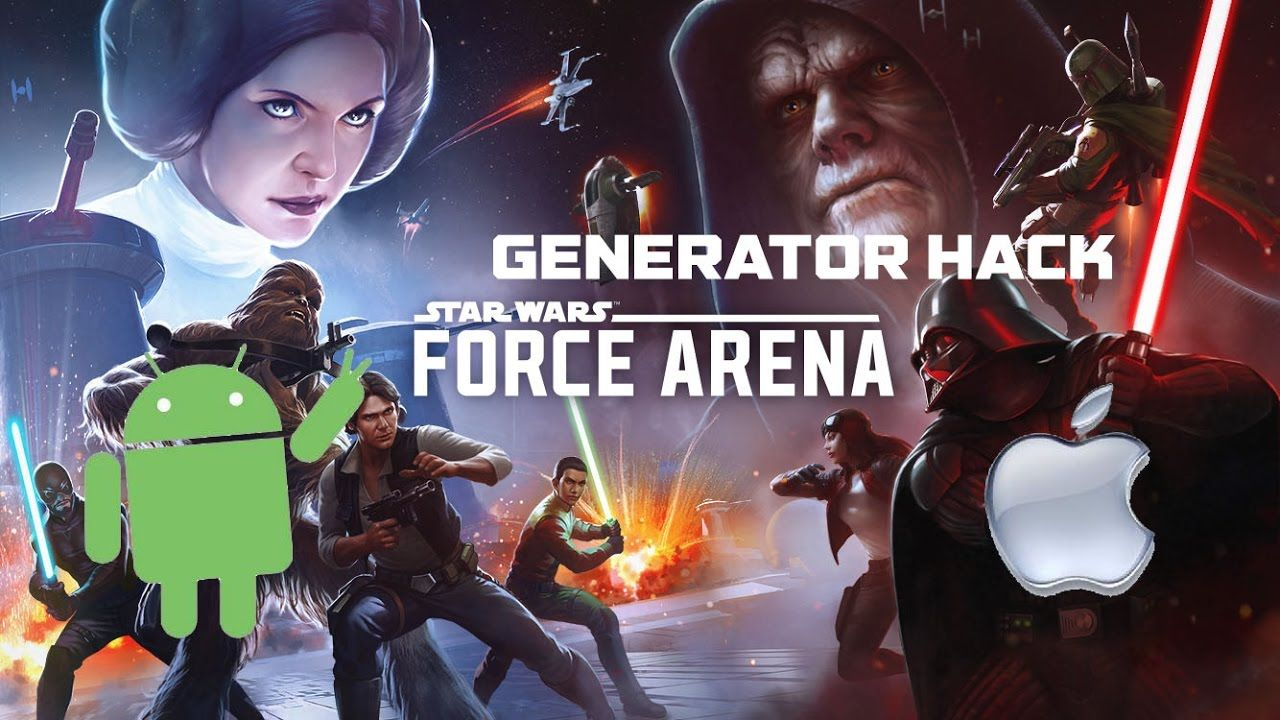 Star Wars Force Arena Hack Generator - Android and iOS