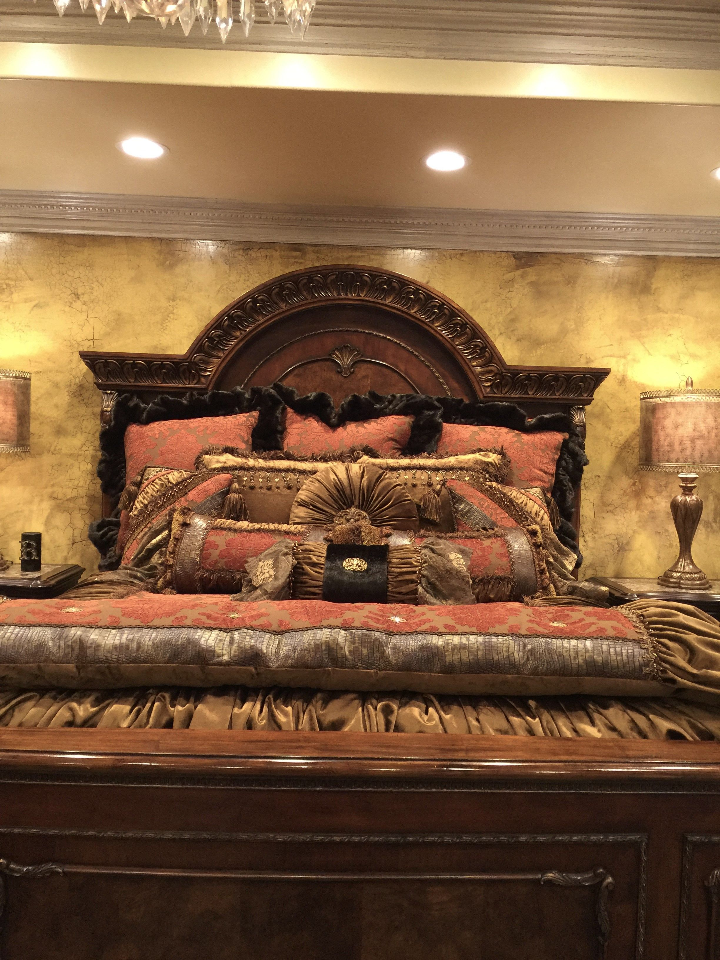 Customized Luxury Bedding and Window Treatments | Luxury, Bed ...