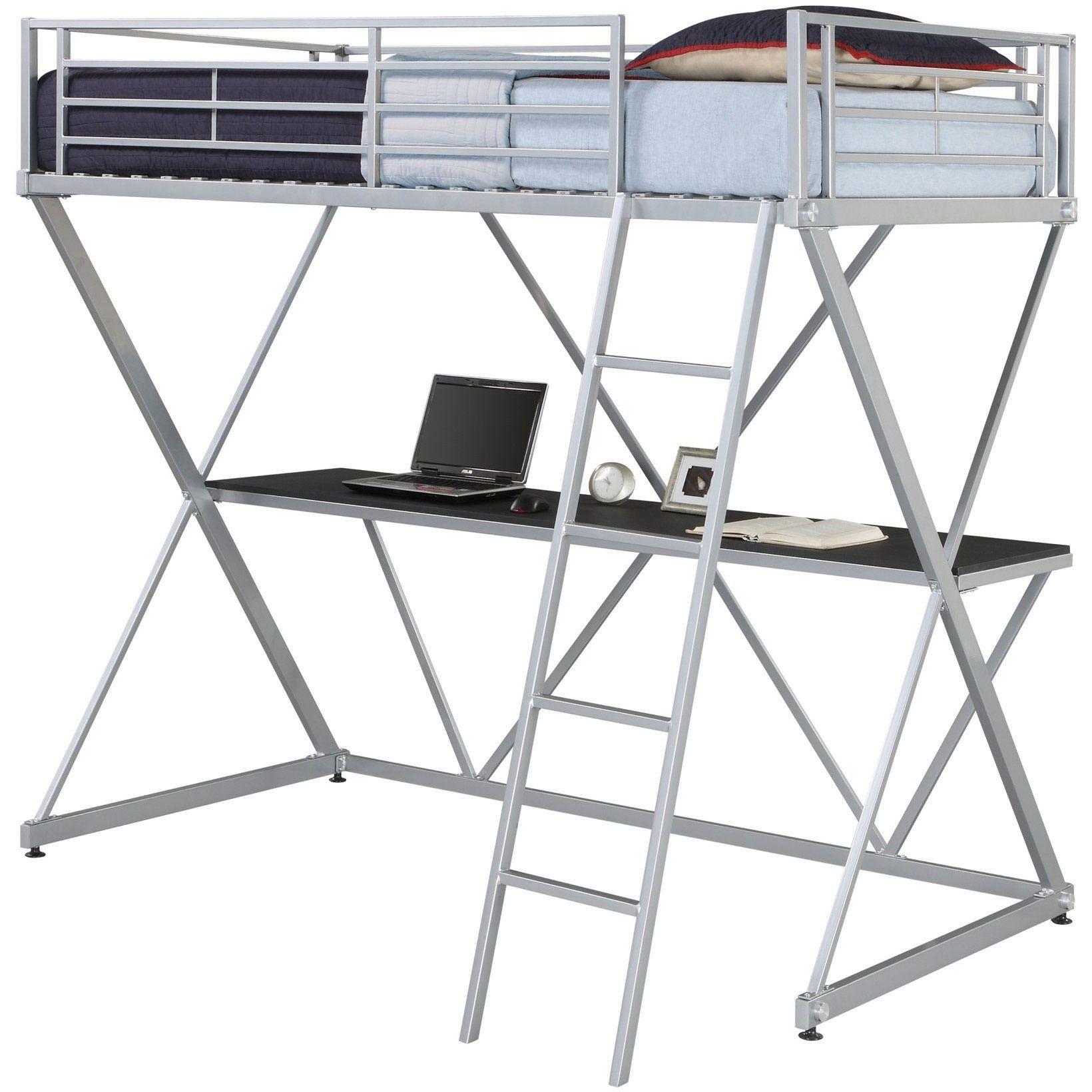 DHP X-Loft Metal Bunk Bed | Camas