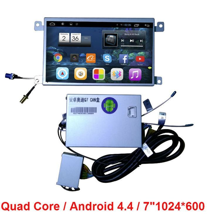 Awesome Audi: in dash Quad Core Android 4.4 CAR Radio DVD GPS Player FOR AUDI A6L 2008 2009 20...  Car Video Players Check more at http://24car.top/2017/2017/04/25/audi-in-dash-quad-core-android-4-4-car-radio-dvd-gps-player-for-audi-a6l-2008-2009-20-car-video-players/