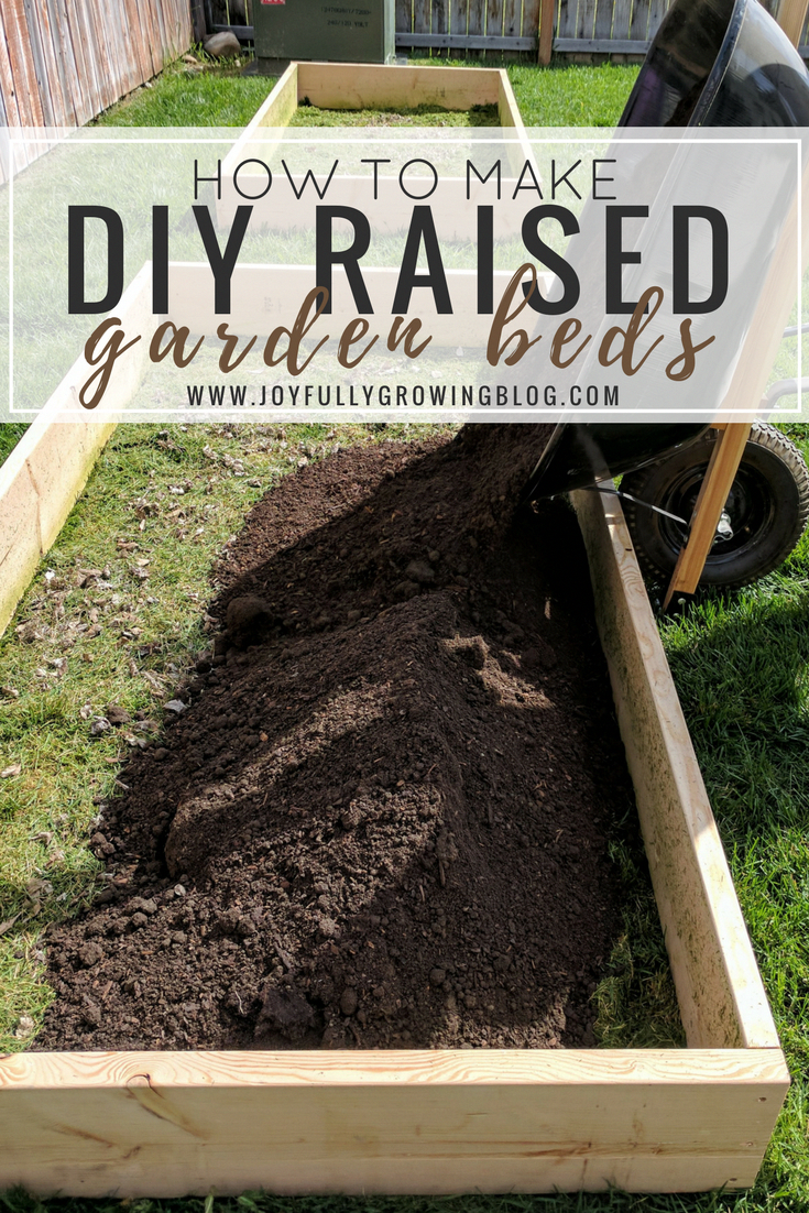 A stepbystep tutorial on how to make diy raised garden beds get