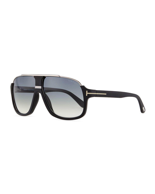 TOM FORD Elliot Acetate Sunglasses, Black | accessories | Pinterest ...