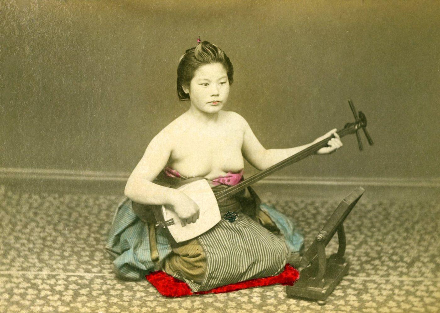 Old Geisha Nude 94