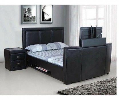 5 reasons to love motorised tv stand for end of bed bedroom furniture modern bedroom. Black Bedroom Furniture Sets. Home Design Ideas