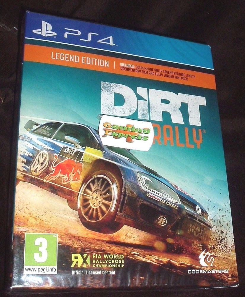 DiRT Rally Legend Edition Playstation 4 PS4 NEW SEALED In Video Games Consoles