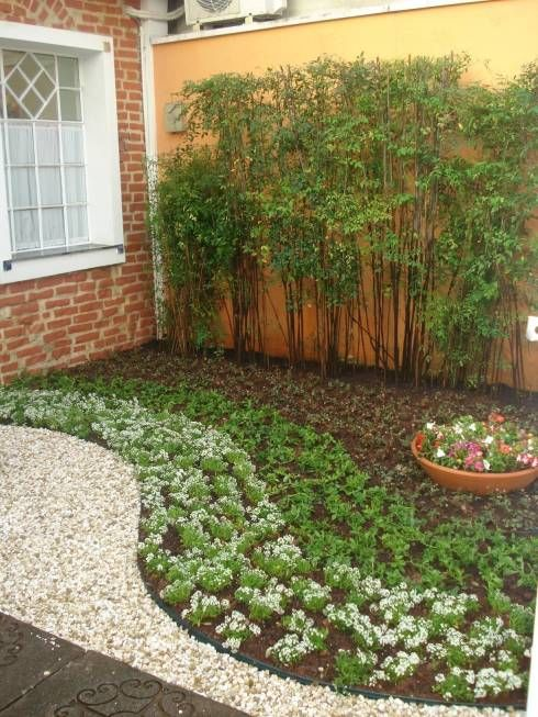 Jardines de estilo Minimalista por E|F DESIGN.INTERIORES.PAISAGISMO