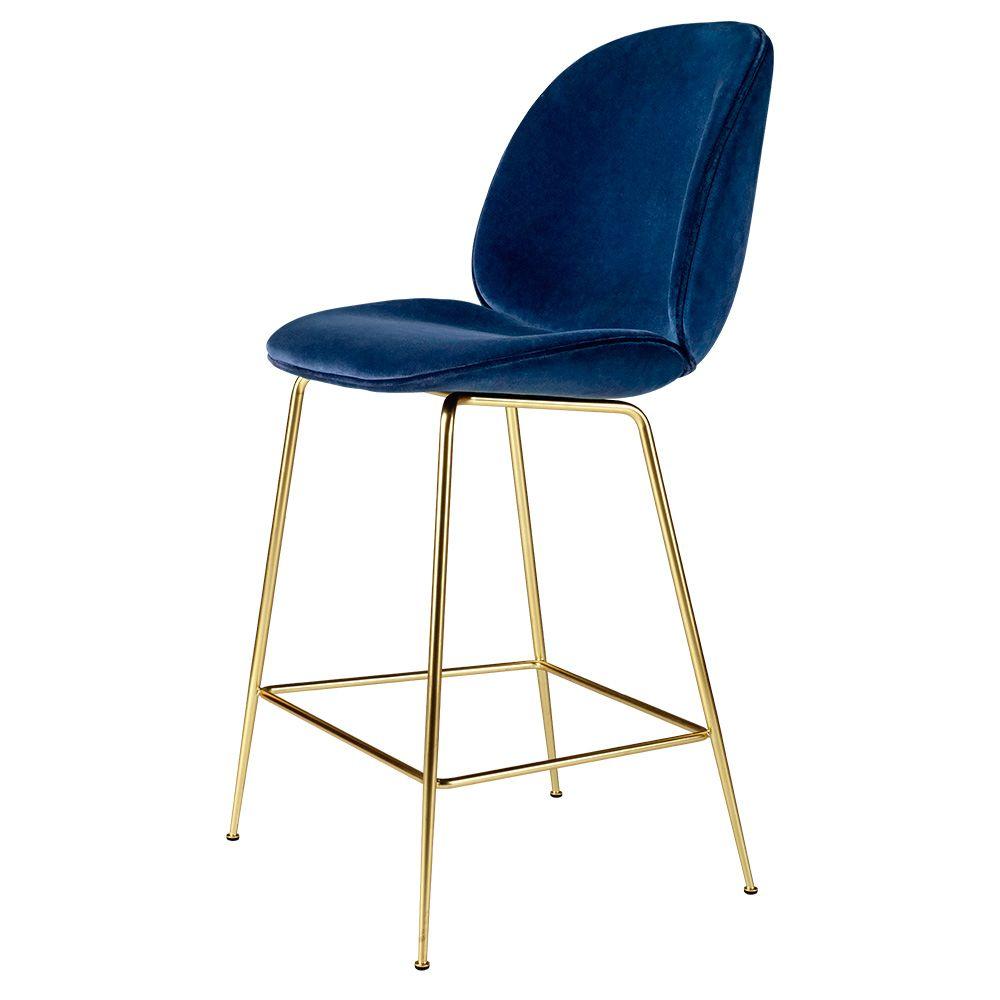 Gubi Beetle Upholstered Bar Chair  Gubi beetle chair, Beetle