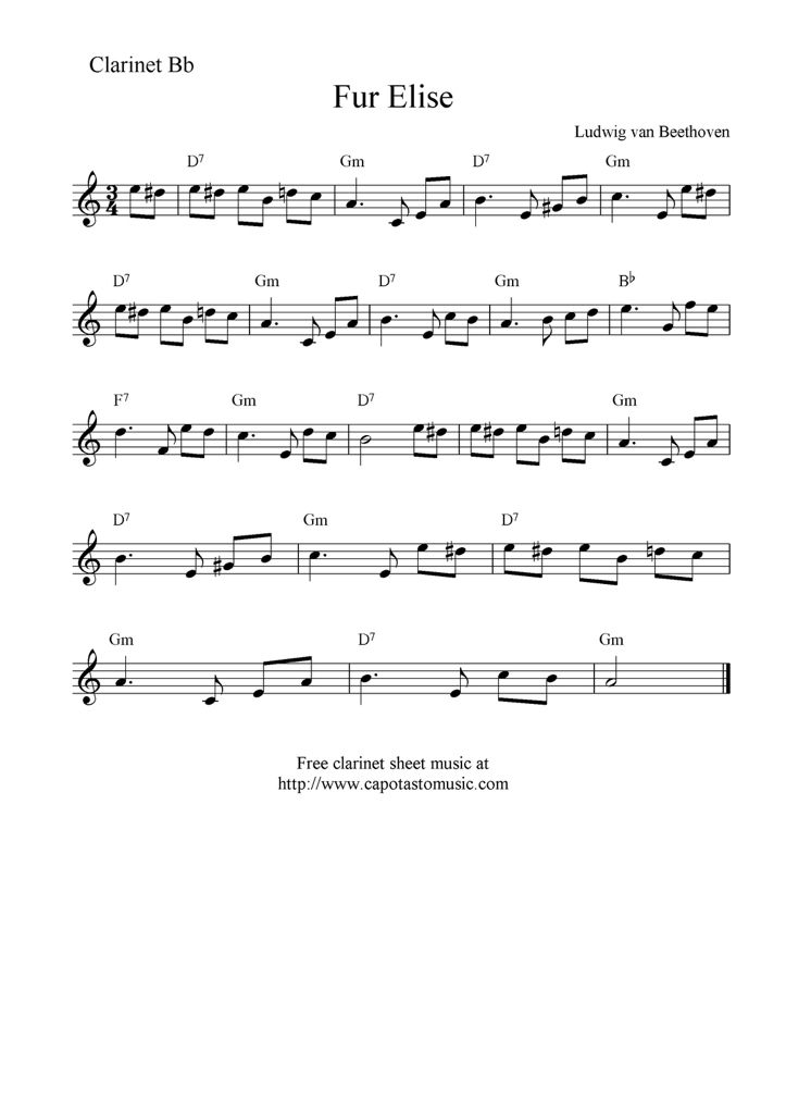 Classical piece FYI Most of the pieces I have are in b flat ...