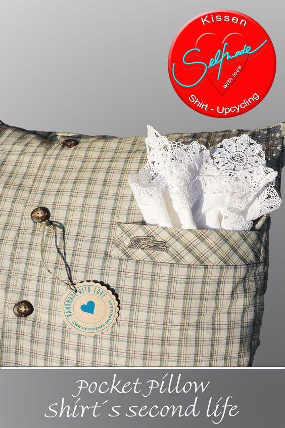 pocket pillow n hen pinterest kissen n hen und geschenke selber machen. Black Bedroom Furniture Sets. Home Design Ideas