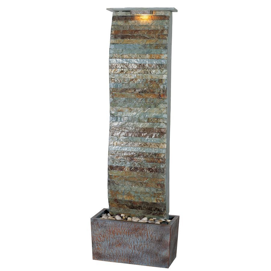 Shop Kenroy Home Curvature Fountain at Lowes.com | relaxin ...