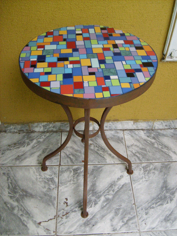 Resultado de imagen para mesa con mosaicos   Mesas Mosaico ...