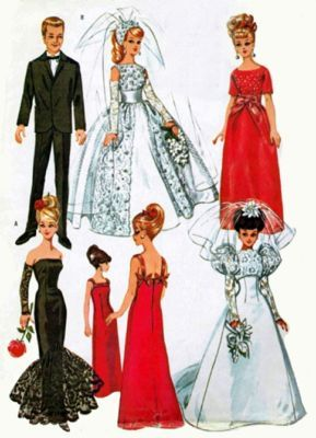 Vintage printable barbie doll patterns clothing seems magnificent