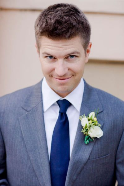 Charleston Wedding by Corbin Gurkin Photography | Blue ties ...