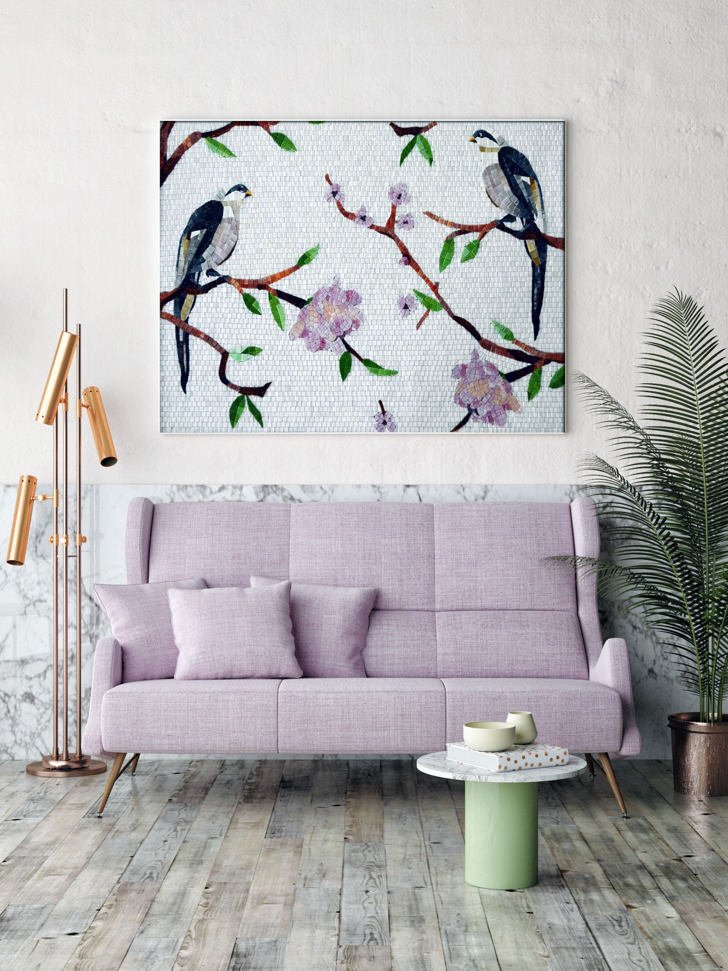 Unique Ways To Decorate Your Home With Mosaic Wall Art | to print ...