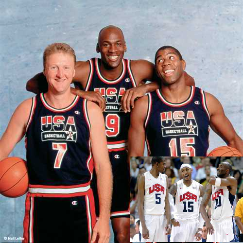 Larry Bird On Dream Team Debate: Dream Team vs. 2012 USA Men's Basketball Team, We're Really Old