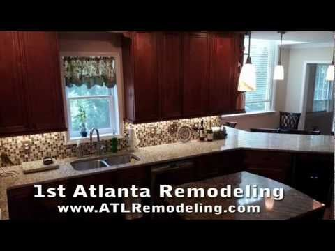 Kitchen Remodeling Roswell Ga Creative Best The Brown Family Kitchen Upgrades 1St Atl Remodeling  Roswell Ga . Review