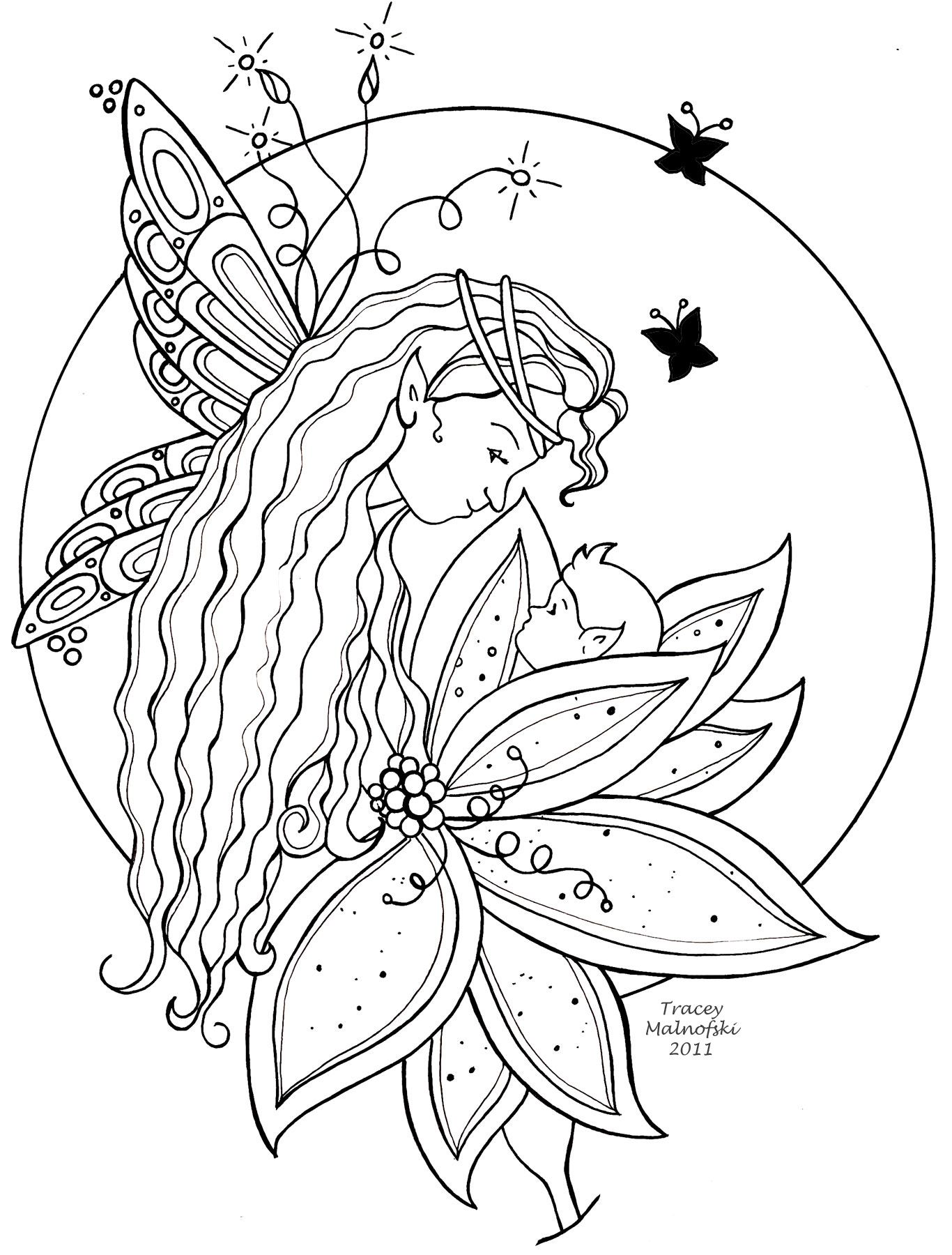 Nico the unicorn coloring pages - 17 Best Images About Fairies And Magic On Pinterest Fairy Pictures Fairy Tree Houses And Digi Stamps