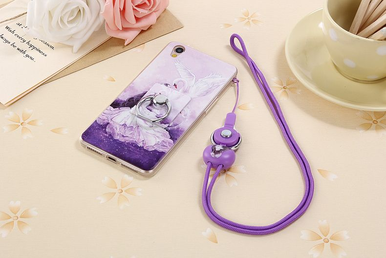 new products 33d0a 95d91 Case for Oppo A37 Lanyard Phone Back Case for Oppo A37 Soft TPU ...