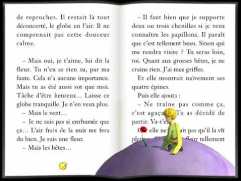 Le Petit Prince chapitre 9 - YouTube | Le petit prince