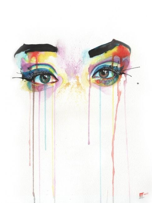 Watercolor Eye Wallpaper Hd With Images Art Inspiration Cool