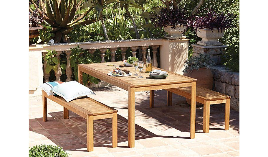 Buy Sedona 3 Piece Classic 180x90cm Table & Bench from our