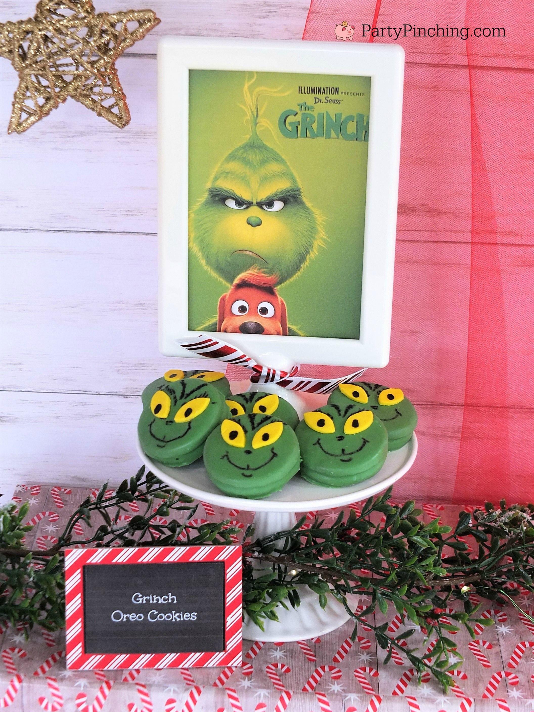 Grinch Oreos Christmas Movie Marathon Christmas Movie Night Party