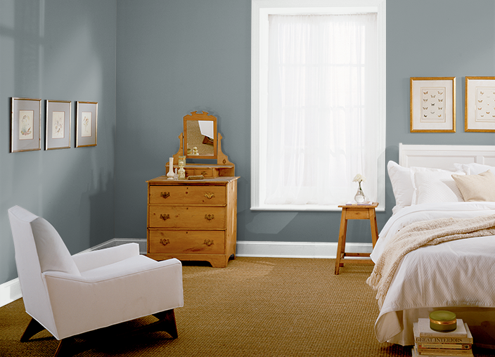 OCEAN SWELL(PPU2519), Remodel bedroom, Home, Behr paint